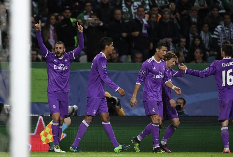 Benzema entró de cambio y resolvió el partido. (Foto: AFP)
