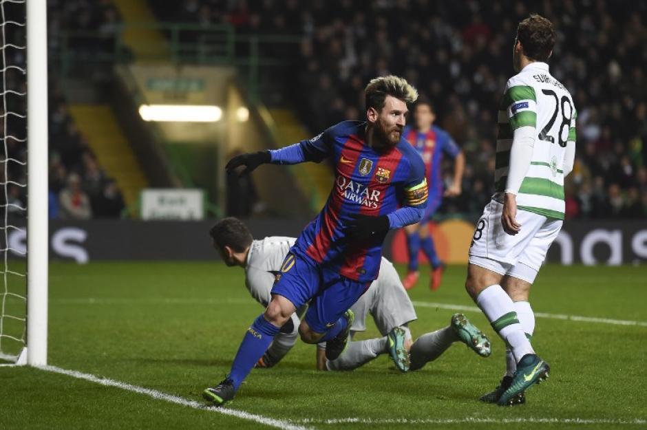 Messi marcó el primer gol a pase de Neymar. (Foto: AFP)