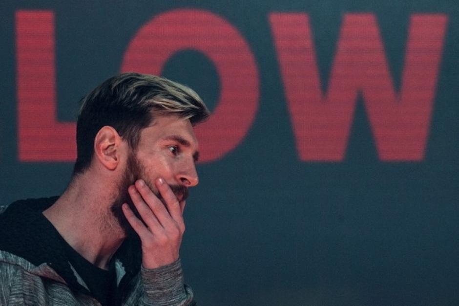 Leo Messi no entrenó con el resto del equipo. (Foto: AFP)