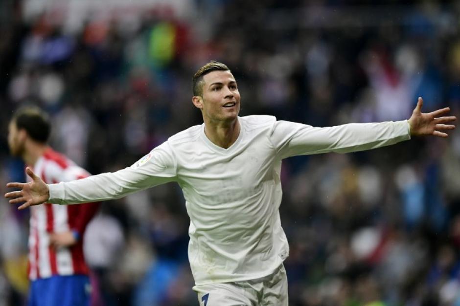 La ecológica playera del Real Madrid era totalmente blanca. (Foto: AFP)