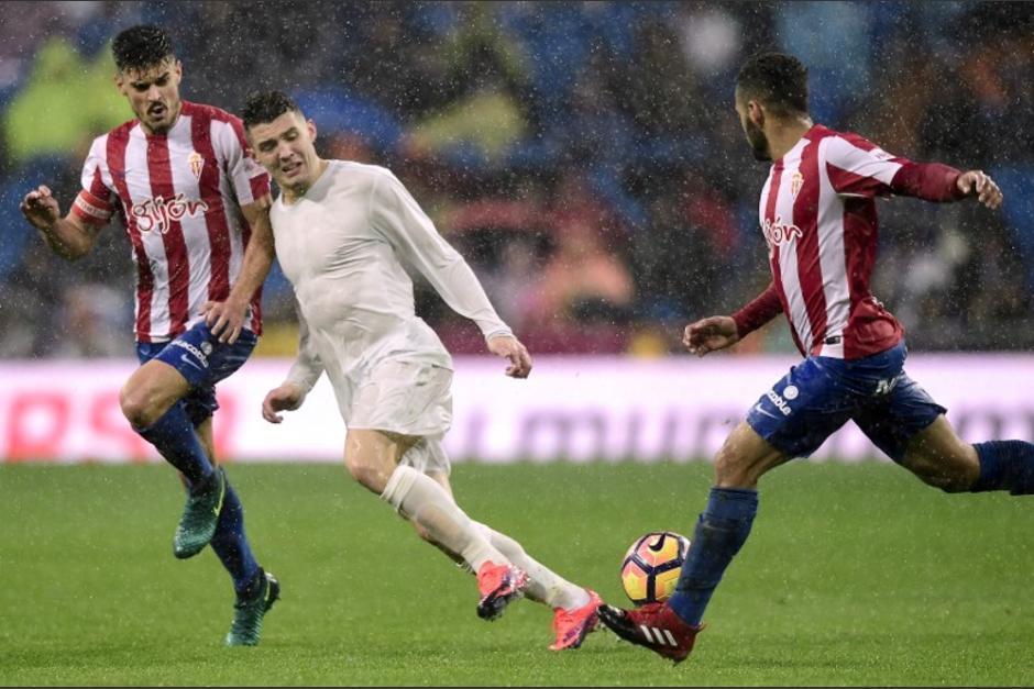 Las camisas del Madrid parecían transparentes y vacías. (Foto: AFP)
