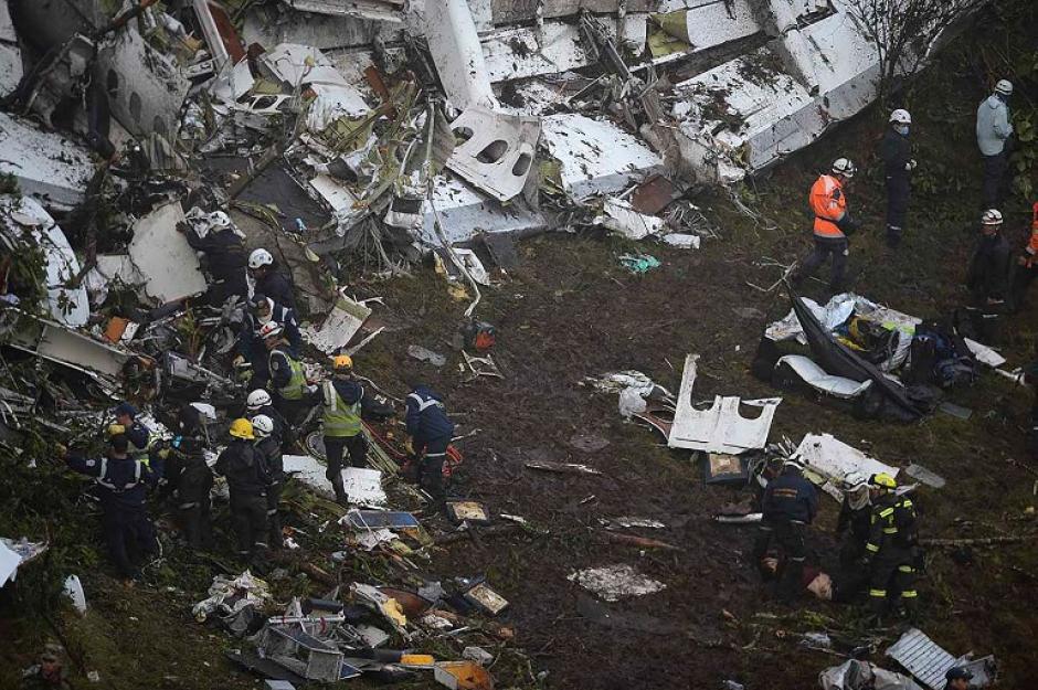 El avión se estrelló a pocos kilómetros de su destino. (Foto: AFP)