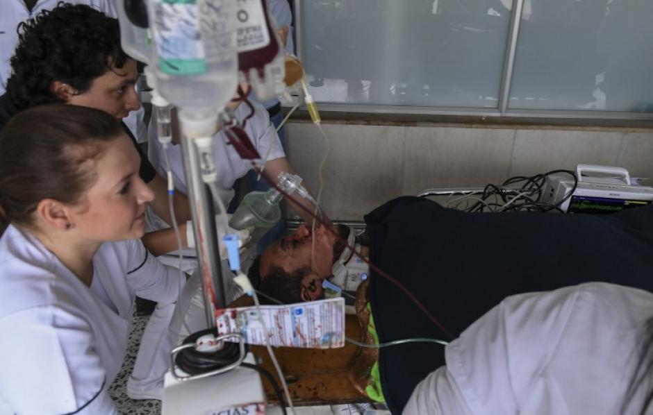 Neto está internado y sedado. (Foto: AFP)