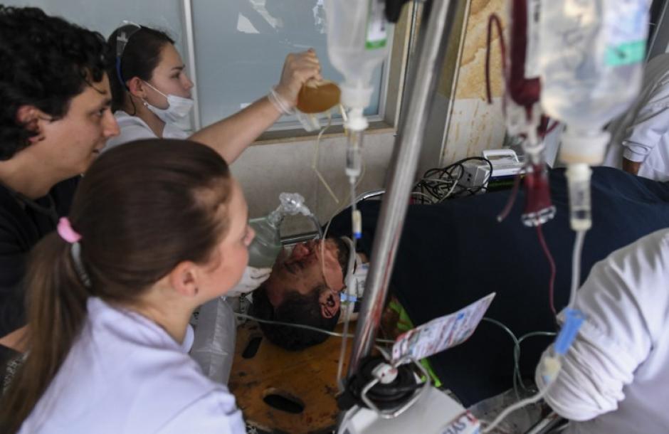 Su padre asegura que la recuperación será total. (Foto: AFP)