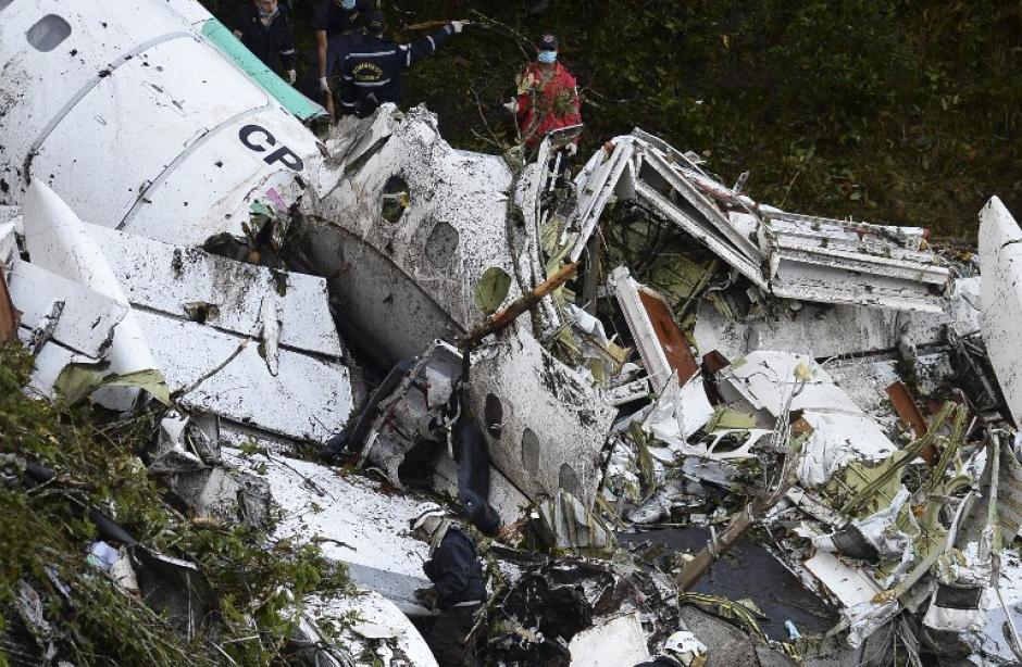 Seis personas están vivas e internadas. (Foto: AFP)