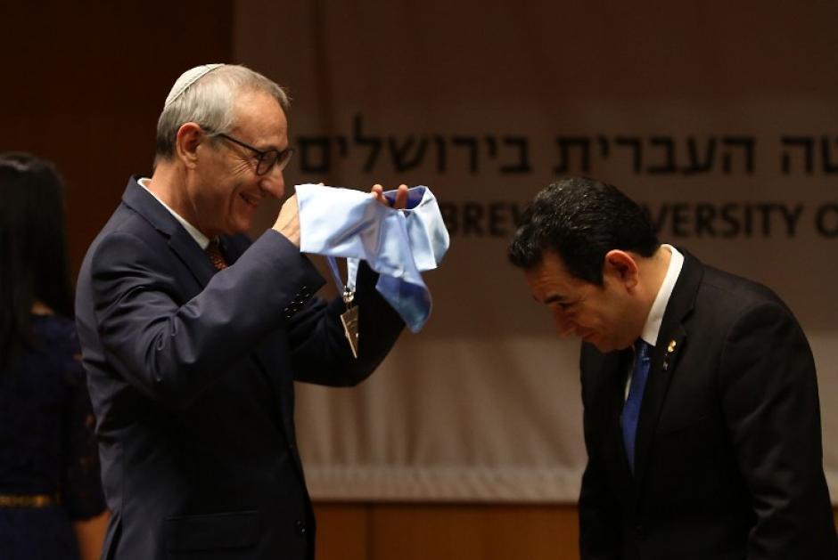 El presidente Morales se encuentra de visita oficial en Israel. (Foto: AFP)