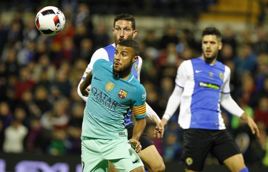 El Barcelona tuvo que venir de atrás para empatar el juego. (Foto: AFP)