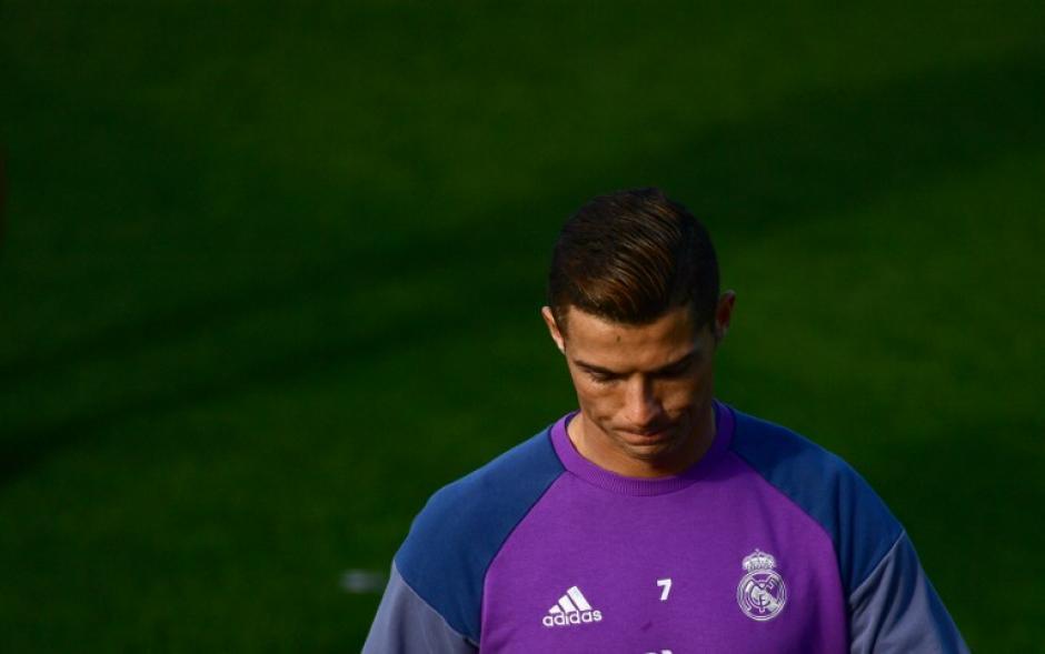 Cristiano Ronaldo llega en perfecto estado. (Foto: AFP)