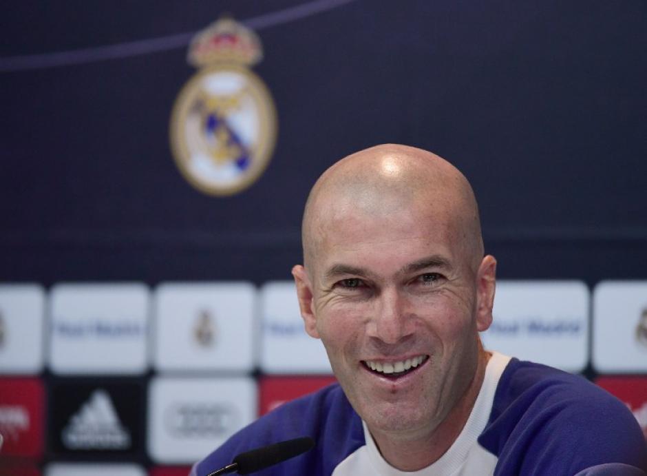 Zidane tiene tres bajas importantes en sus jugadores, pero también cuenta con gente para cubrirlas. (Foto: AFP)