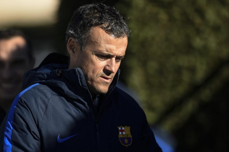 El técnico no sabe si Iniesta está para salir de titular. (Foto: AFP)