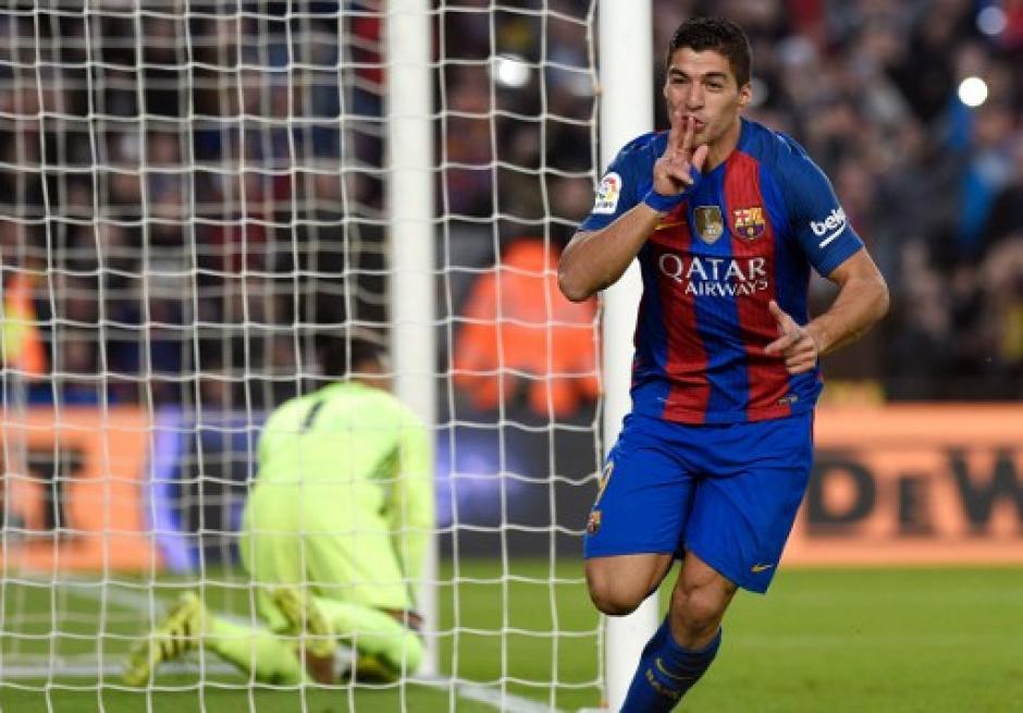 Suárez había abierto el marcador al minuto 52. (Foto: AFP)