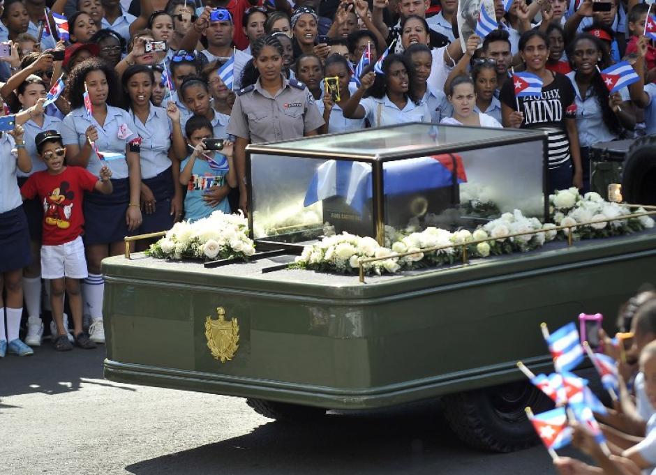 Fidel Castro será se despide de su pueblo. (Foto: AFP)