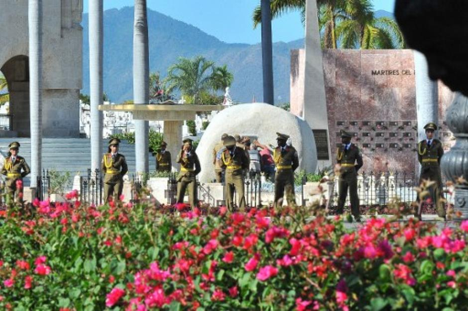 La ceremonia fue privada, a donde asistieron pocos invitados. (Foto: AFP)