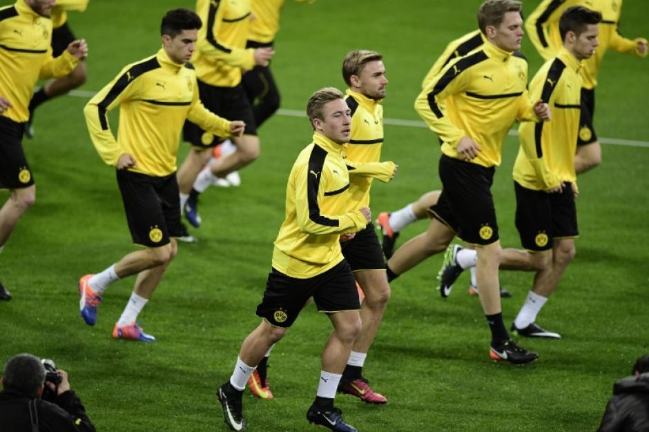 El Dortmund quedaría primero con un empate en Madrid. (Foto: AFP)