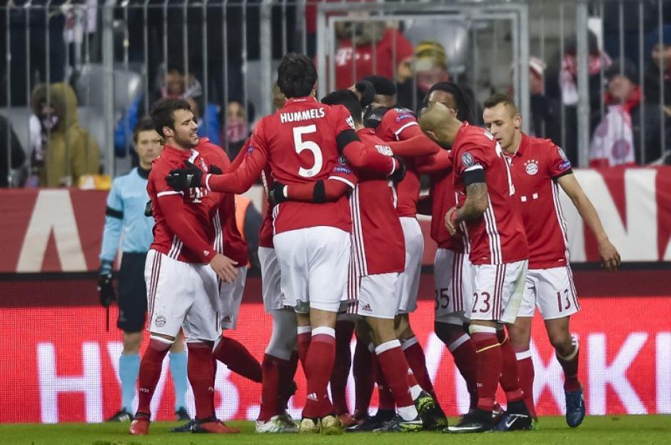 El Bayern venció al Atlético sin nada en juego. (Foto: AFP)