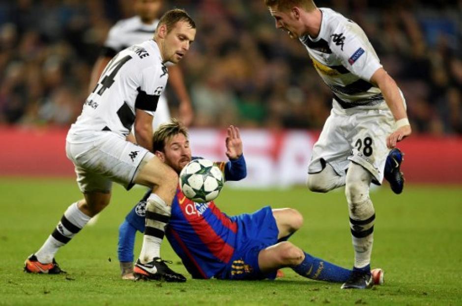Messi no pudo marcar el triplete que le permitiría superar a CR7. (Foto: AFP)