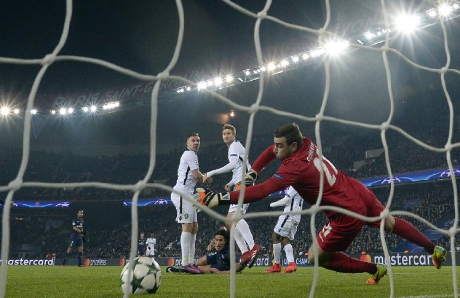 El PSG no pudo ganarle al modesto Ludogorets. (Foto: AFP)