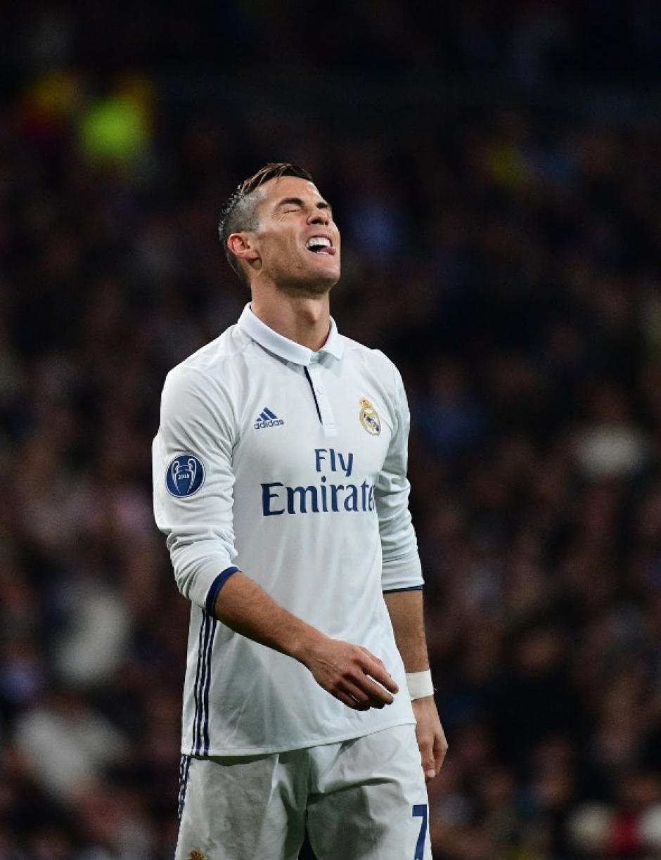 Cristiano Ronaldo sigue sin suerte en la Champions. (Foto: AFP)