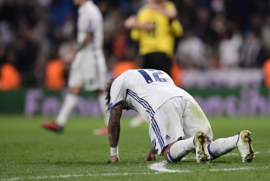 El Real Madrid falló en casa en el último minuto. (Foto: AFP)