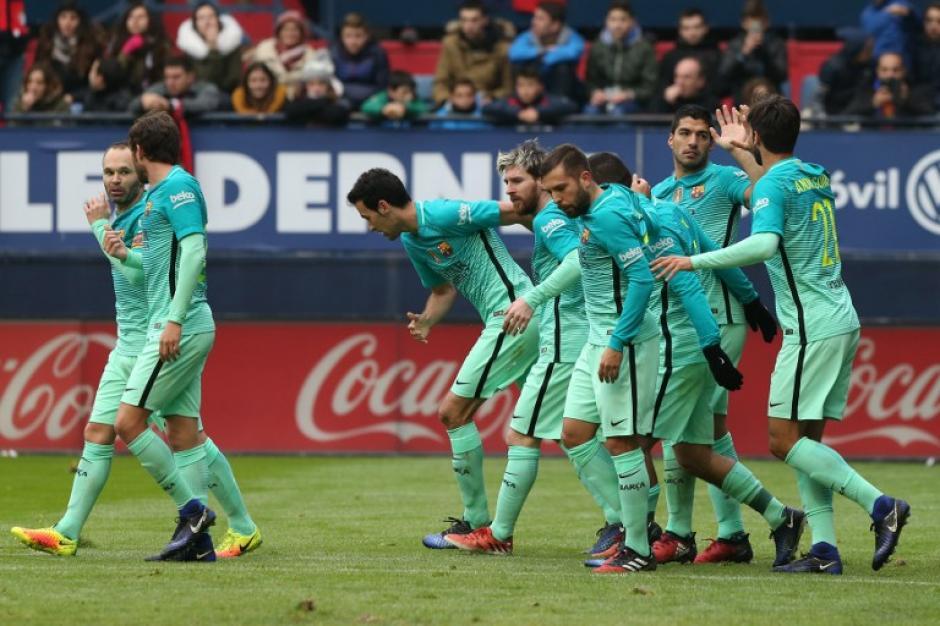 El Barcelona rompió una racha de tres empates consecutivos en La Liga. (Foto: AFP)
