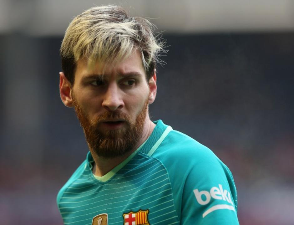 El argentino logró dos de los tres goles del Barcelona. (Foto: AFP)