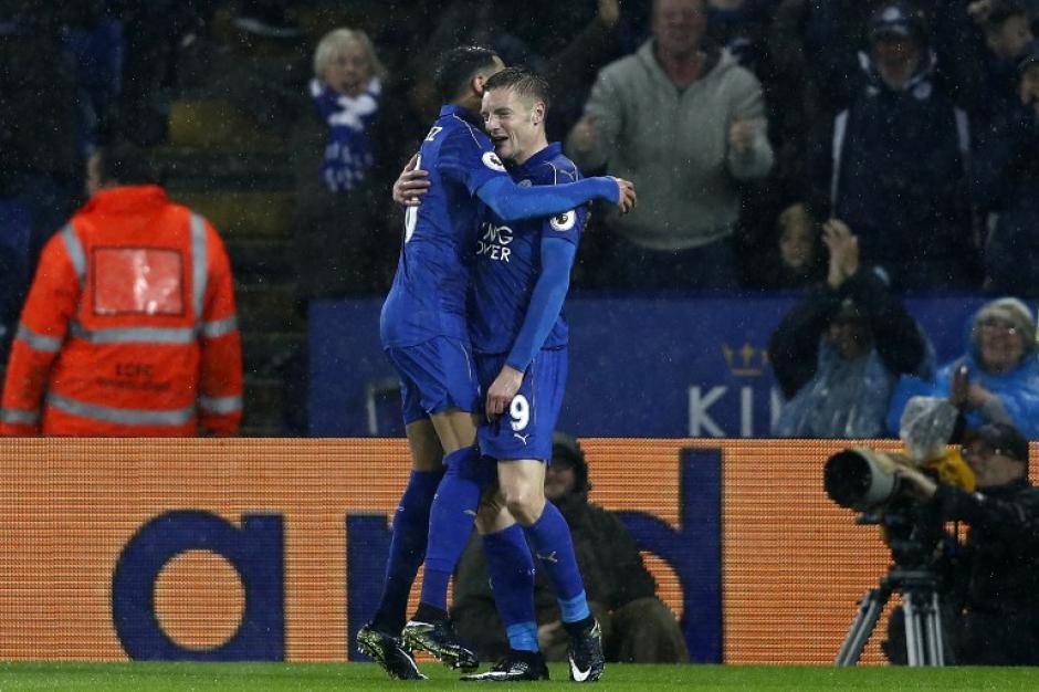 El Leicester City peligraba en los últimos puestos. (Foto: AFP)