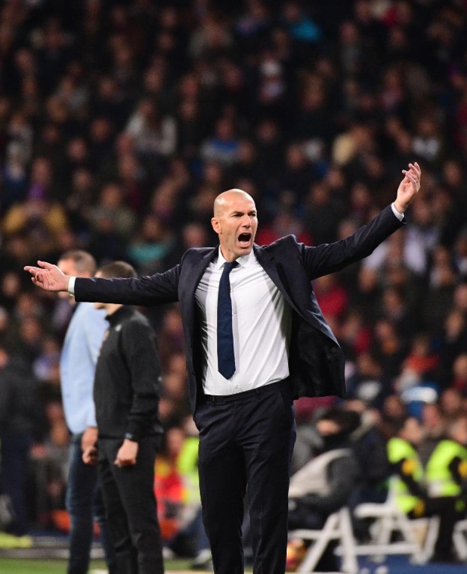 El Madrid de Zidane llegó a 35 partidos sin perder. (Foto: AFP)