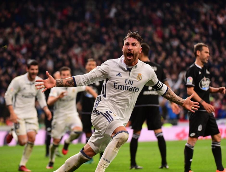Ramos también había salvado el partido contra el Barcelona. (Foto: AFP)