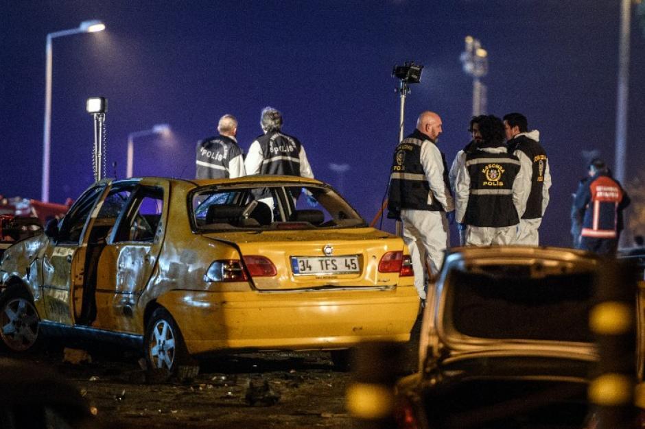 Las explosiones se dieron sobre las 22:30 horas. (Foto: AFP)