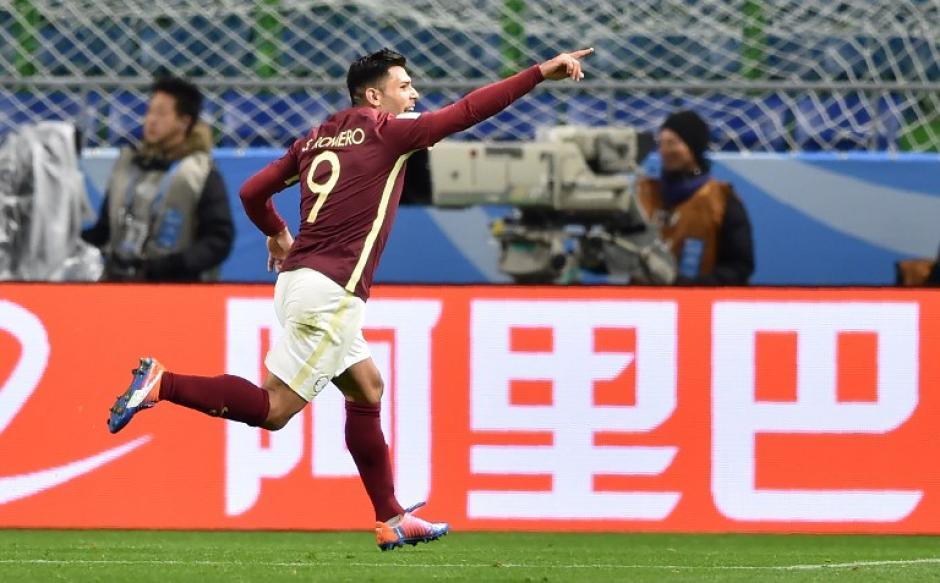 Silvio Romero fue el héroe con un doblete. (Foto: AFP)