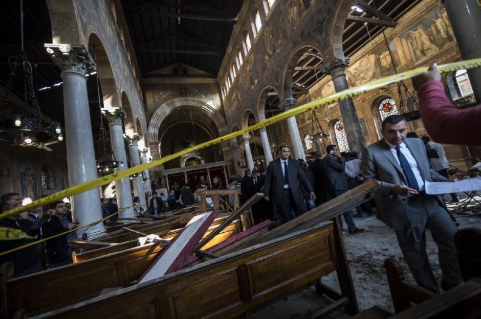 Un atentado dejó 25 personas muertas en El Cairo. (Foto: AFP)