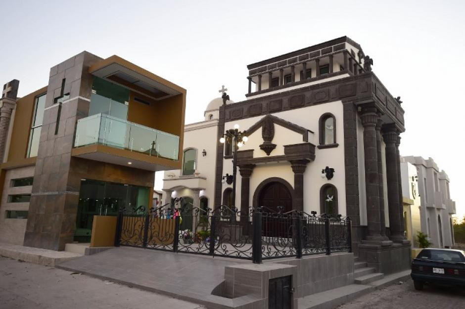 La mayoría de tumbas ostentosas en Sinaloa no tienen nombre. (Foto: AFP)