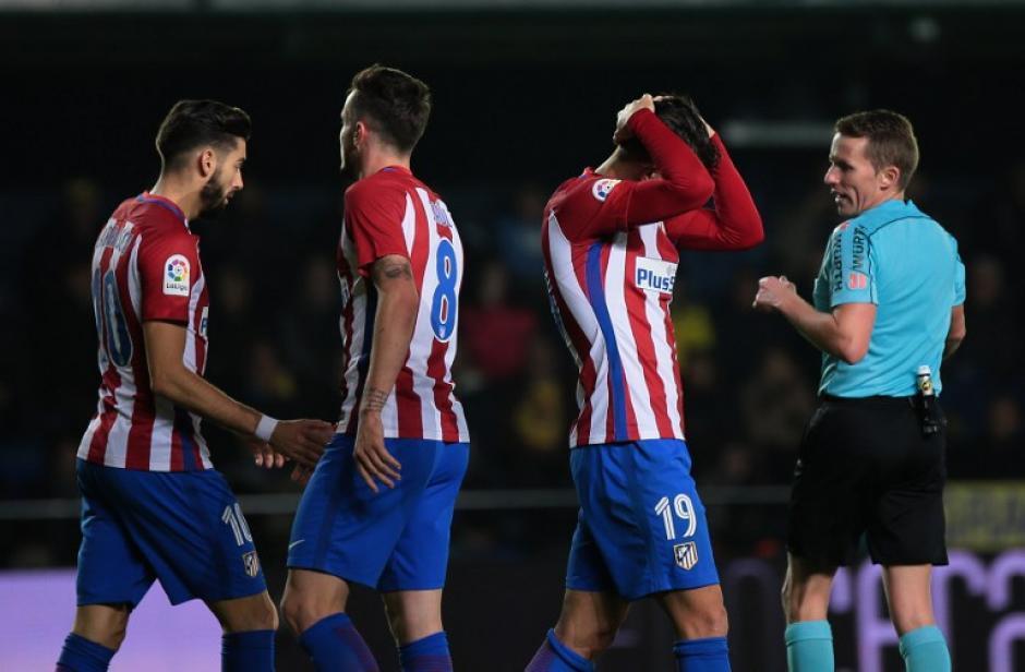 El Atlético de Madrid está en problemas. (Foto: AFP)