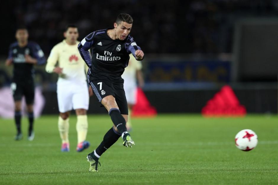 El portugués marcó su gol en el descuento. (Foto: AFP)