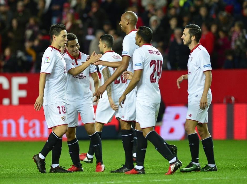 El Sevilla de Sampaoli cada vez juega mejor. (Foto: AFP)