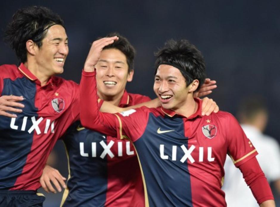 Gaku Shibasaki (D) anotó dos goles y sorprendió al Real Madrid por su 2-1 parcial. (Foto: Kazuhiro Nogi/AFP)