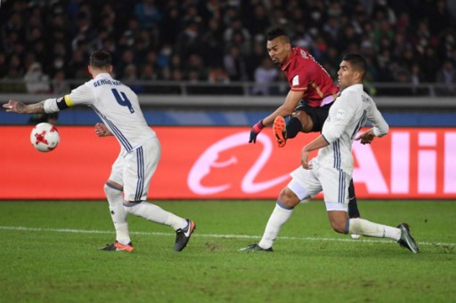 El partido fue intenso y por un poco el Real Madrid no gana. (Foto: AFP)