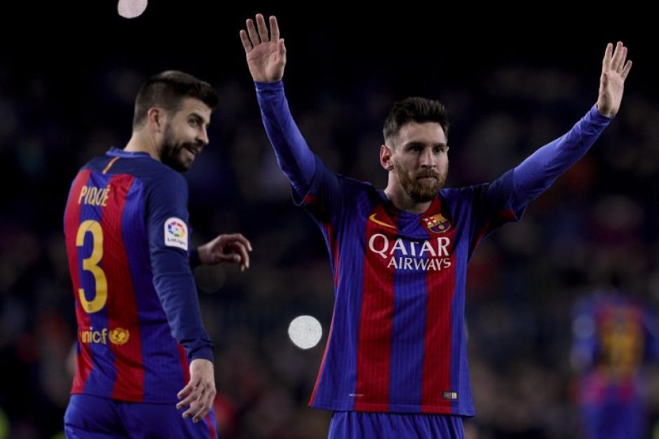 10 años después de su gol al Getafe, Messi sigue haciendo de las suyas. (Foto: AFP)