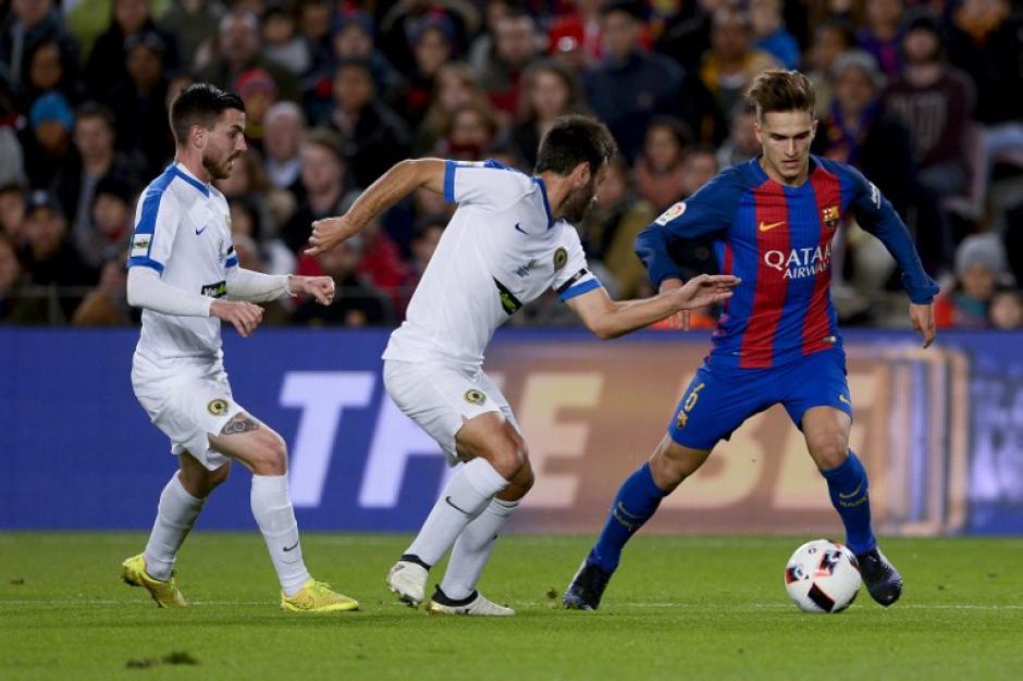 Denis Suárez desequilibró al equipo rival. (Foto: AFP)