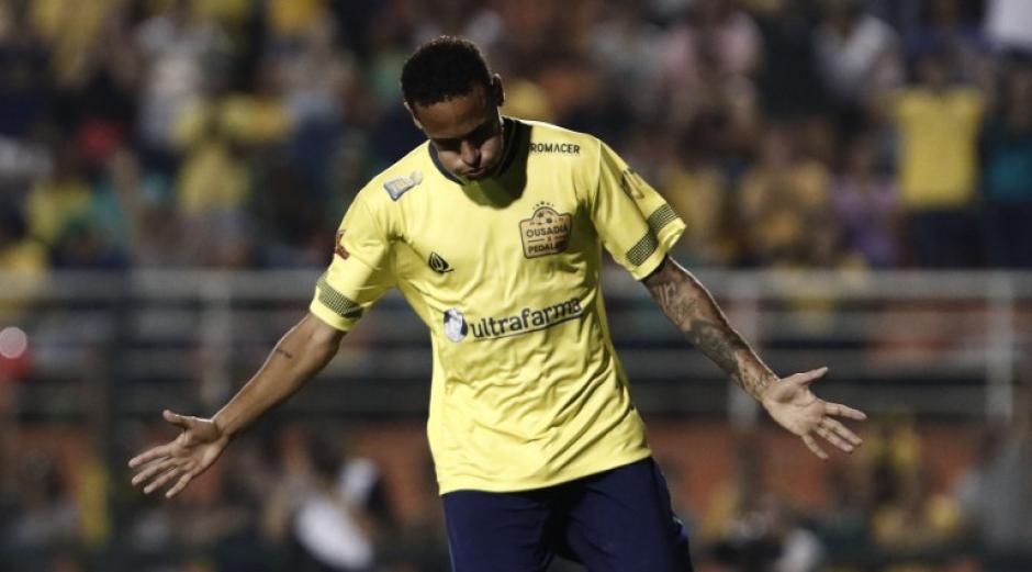 El brasileño fue la estrella del amistoso. (Foto: AFP)
