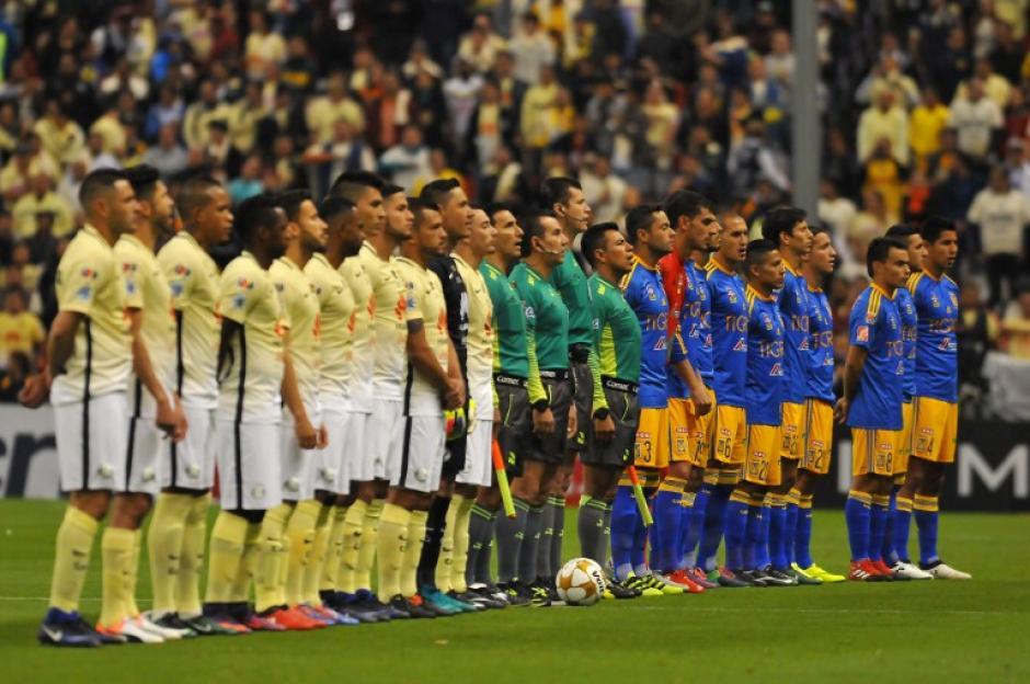 El América y los Tigres empataron en el partido de ida de la final del fútbol mexicano. (Foto: AFP)