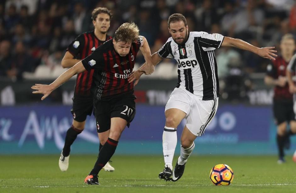 El partido contra la Juve quedó 1-1 y se fue a penales. (Foto: AFP)