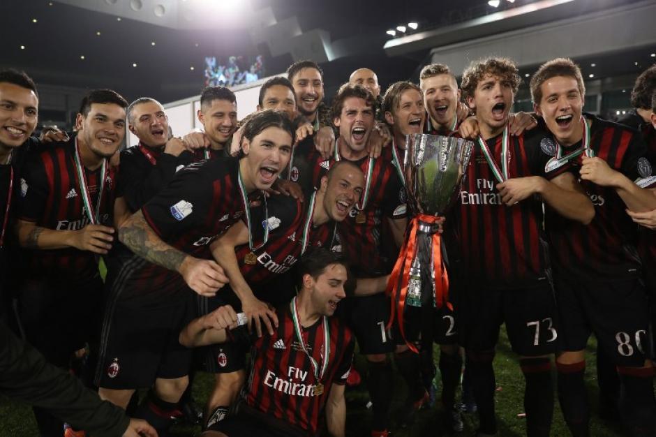 El conjunto de Montella no ganaba algo desde 2011. (Foto: AFP)
