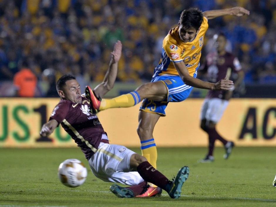 Los Tigres buscaron desde el principio la apertura del marcador. (Foto: AFP)