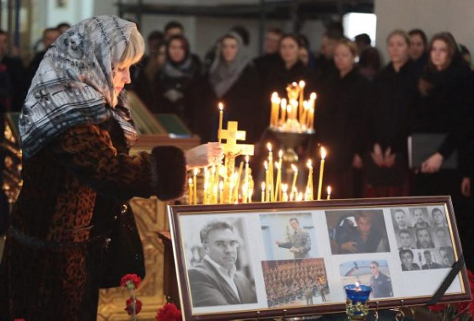 El accidente aéreo es una verdadera tragedia en Rusia. (Foto: AFP)