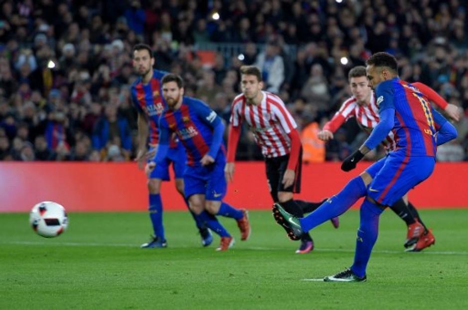 Neymar no anotaba desde el 19 de octubre de 2016. (Foto: AFP)