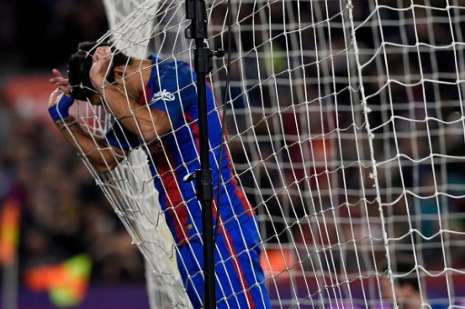 Neymar aunque marcó no estuvo tan fino. (Foto: AFP)