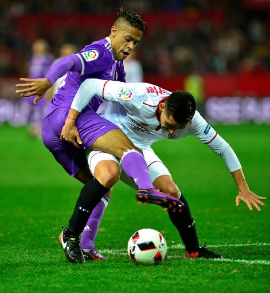 Real Madrid empató en Sevilla. (Foto: AFP)