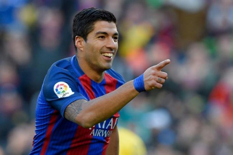 Suárez anotó un doblete para el Barcelona. (Foto: AFP)
