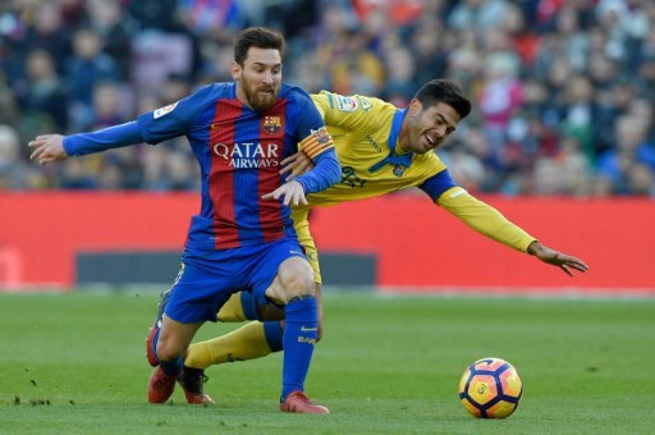 Messi tuvo un partido complicado. (Foto: AFP)